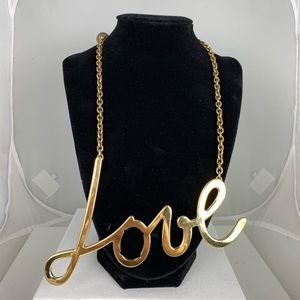 Lanvin Love Necklace